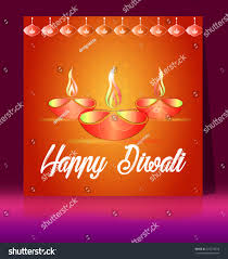 traditional celebration happy diwali deepavali light stock