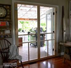 Diy Patio Doors Installing Screen Doors On Doors Easy And Cheap Funky