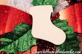 wooden stocking ornaments christmas wood ornaments diy crafts