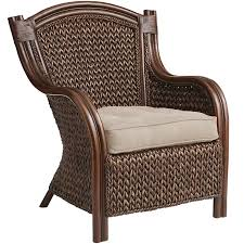 Rattan Settee King Brown Wicker Armchair Pier 1 Imports