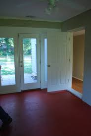 red floor paint interior with floor painting idea u2013 the nuance of selecting color