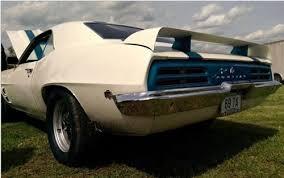 1969 camaro rear spoiler 1969 camaro rear spoiler firebird trans am style