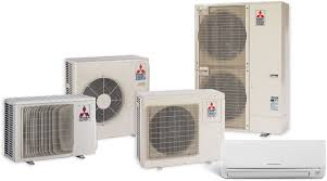 mitsubishi electric cooling and heating logo products warren heating u0026 air