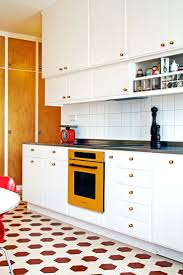 kitchen cabinets 50s retro kitchen cabinets dark coral