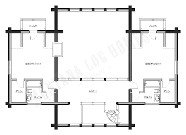 Montana Log Homes Floor Plans by Mlh 055 Montana Log Homes