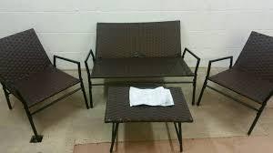 A Brand New Slight Seconds  Piece Childs Garden Rattan Furniture - Rattan furniture set