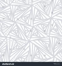 seamless light geometric pattern grey white stock vector 733368742