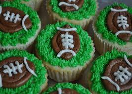 football cupcakes fredellicious football cupcakes