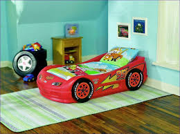 Disney Cars Bedding Set Bedroom Fabulous Girls Car Bed Minion Toddler Bed Kids Red Car