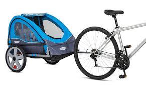 amazon com instep take 2 double trailer blue sports u0026 outdoors