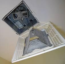 Bathroom Fan Lights How To Install A Panasonic Whisperfit Ez Bathroom Fan