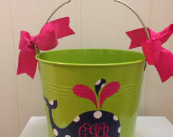 easter pail easter basket easter pail meatal easter pail