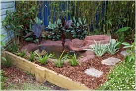 backyards chic beautiful garden pond with rocks 47 diy outdoor