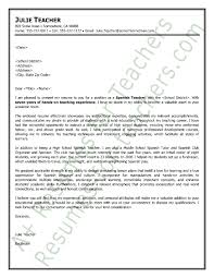 Resume In Spanish Example by Cover Letter Sample For Teachers Resume Downloads In Sample Cover