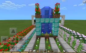 Minecraft Garden Ideas Minecraft Garden With Plants Minecraft Green House Flower Garden
