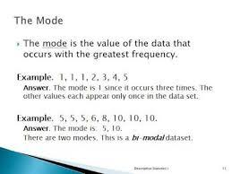 descriptive statistics i lecture youtube