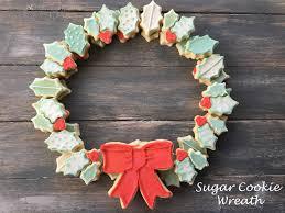 sugar cookie wreath lil celebrations