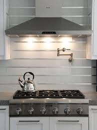 modern backsplash kitchen kitchen backsplash chrome contemporary textured metal stainless