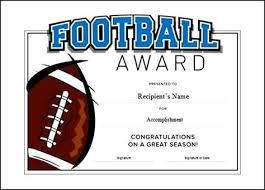 soccer award certificate template soccer award certificate