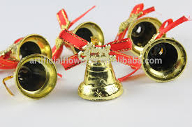 small decorative gold plastic bells buy small