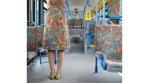 Designer Upholstery Fabrics Designer Makes Clothes Out Of German Transit Upholstery Fabric