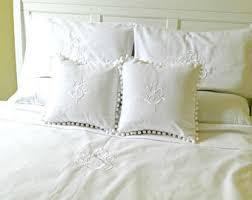 Queen Duvet Comforter Monogram Comforter Etsy