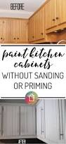 How To Remove Paint From Kitchen Cabinets Cabinet Can You Paint Kitchen Cabinets Without Removing Them How