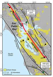 san francisco fault map mystery gap connecting earthquake faults near san francisco
