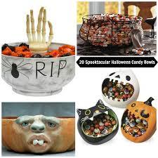 sweet 20 spooktacular halloween candy bowls babble