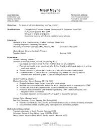 Preschool Teacher Resume Examples Sample Resume Preschool Teacher Sample Teachers Resume Lead