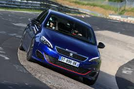 peugeot 308 gti 2016 essai extrême la 308 gti au nürburgring et sur autoroute