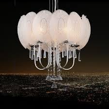 Flower Pendant Light Modern Minimalist Flower Pendant Lights Creative Warm Luxury Igf Usa