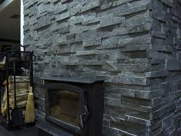 norstone stack stone fireplace fire place and pits