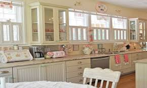 modern country style kitchen pastel color in country kitchen