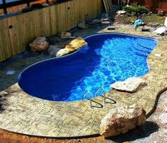 small backyard pool oasis very small inground pools perfect pool