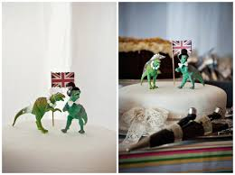 dinosaur wedding cake topper a country diner wedding dinosaurs welcome sam stew