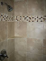 Tiles For Bathroom by Bahtroom A Shower Space With Light Brown Tiles For Walls