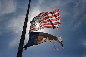 Fly Flag At Half Mast West Explosion One Year Later
