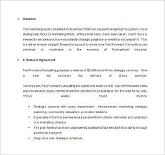 consulting proposal templates u2013 13 free sample example format