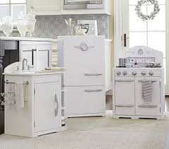 pink retro kitchen collection play kitchens kitchen sets pottery barn