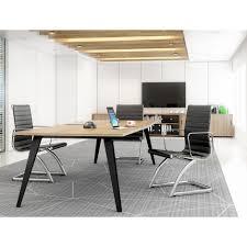 Square Boardroom Table Elite Reflex Table Square Meeting Boardroom Table