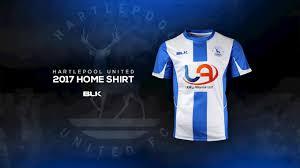 bli bli united revealed new home shirt for 2017 18 news hartlepool united