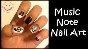 music note nail art youtube