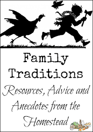 resources for family traditions homestead