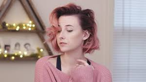 dying my hair pink youtube