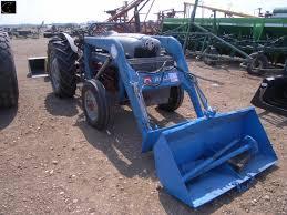 ford 800 tractor c w allied 400 loader w 2 buckets u0026 roto