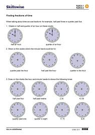 Fraction Worksheets Ks2 Ma17frac E3 W Fractions Time 752x1065 Jpg