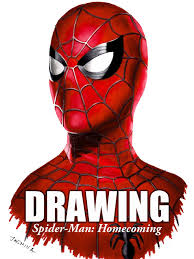 amazon clip drawing spider man homecoming jasmina susak