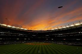yankee stadium home run lights sunset over yankee stadium can the bombers bounce back