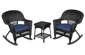 Walmart Patio Furniture Wicker - best choice products outdoor garden patio 4pc cushioned seat black
